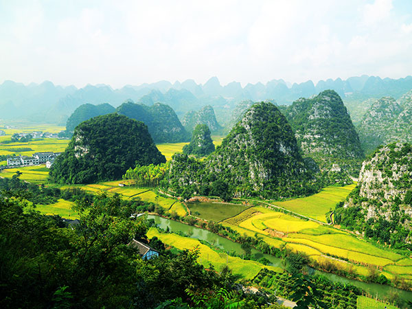 Beautiful Places in Guizhou Province