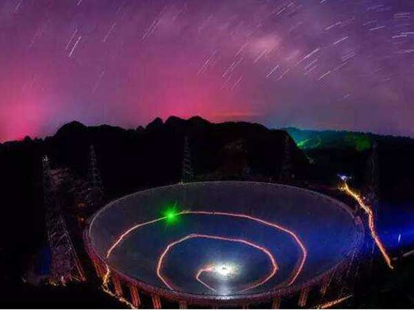 """FAST""——China's World Largest Radio Telescope"