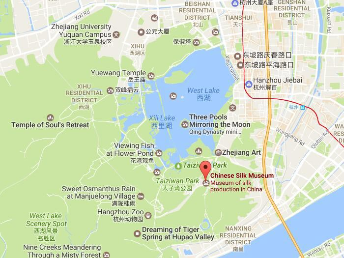 China Silk Museum in Hangzhou Location Opening Hours