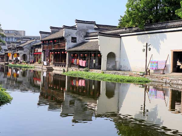 pueblo de agua de hangzhou