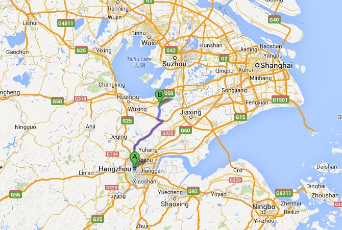 How To Get To Nanxun Water Town From Hangzhou Transport