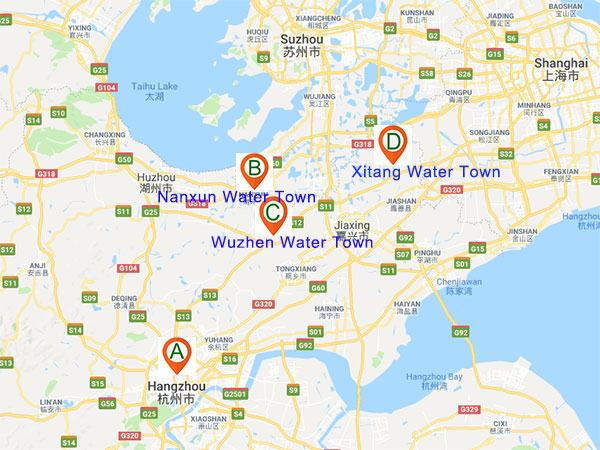 Hangzhou water towns
