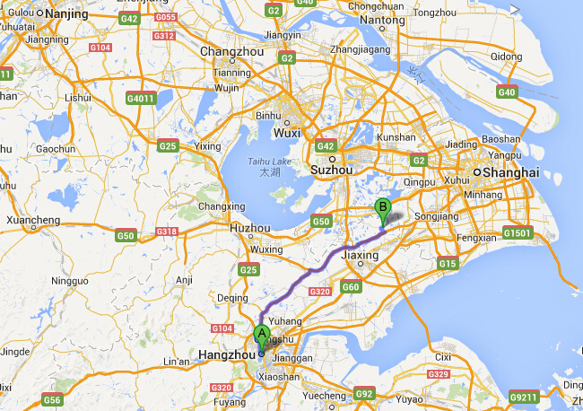 How to Get to Xitang Water Town from Hangzhou, Transport ...
