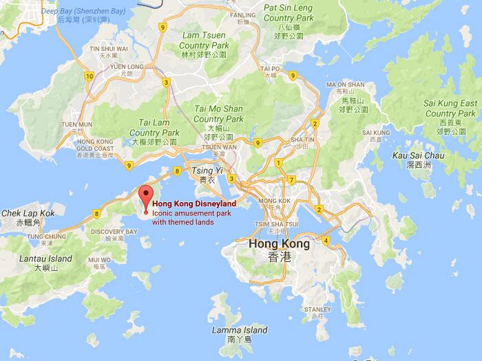 Hong kong disneyland park opening hour location travel highlights location sunny bay lantau island hong kong gumiabroncs Choice Image