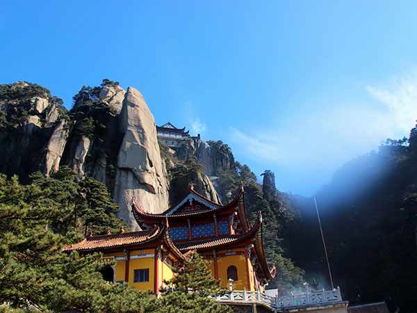 Most Famous Mountains in China - Jiuhua Mountain