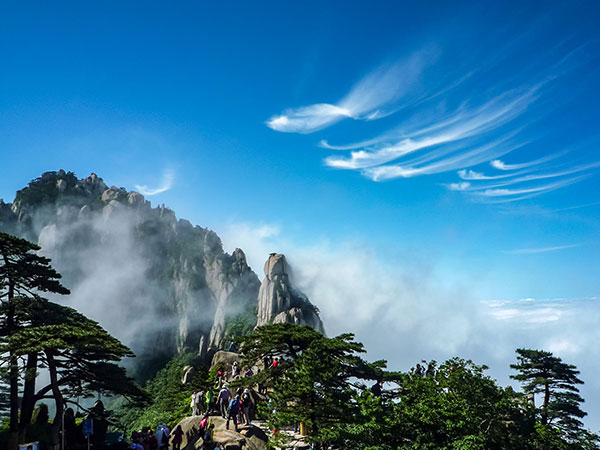 Most Famous Mountains in China-Yellow Mountain