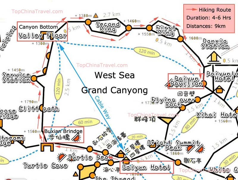 3 Huangshan Hiking Routes, Itinerary with Map & Tips