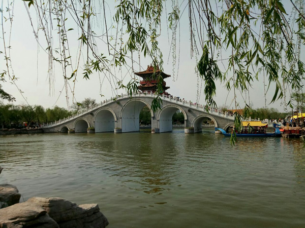 Qingming Riverside Landscape Garden in Kaifeng