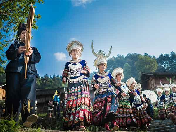 6 Tage Erkundung ethnischer Dörfer und antiker Städte in Guizhou