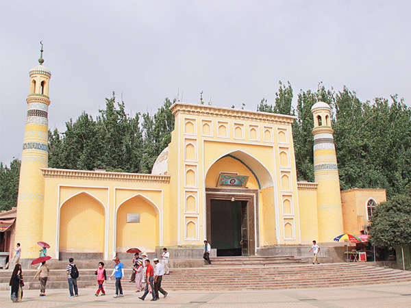 Localities of Muslims in China