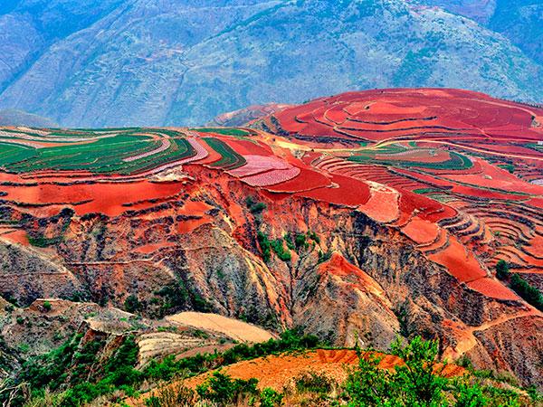 La tierra roja de Dongchuan