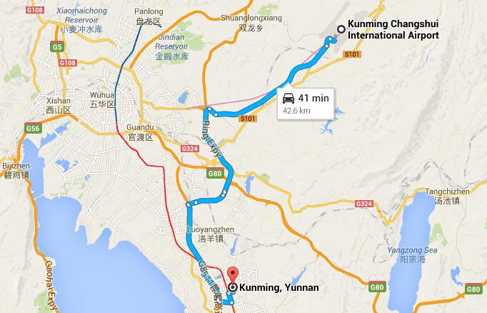 From Kunming Changshui Airport to Kunming City Center on hefei bus map, changchun bus map, wuhan bus map, haikou bus map, changzhou bus map, bangalore bus map, osaka bus map, ho chi minh city bus map, foshan bus map, nanchang bus map, fukuoka bus map, chongqing bus map, yichang bus map, harbin bus map, shenzhen bus map, ningbo bus map, shenyang bus map, lanzhou bus map, lijiang bus map, ipoh bus map,