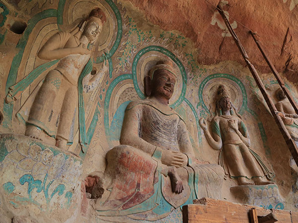 Bingling Thousand-Buddha Caves