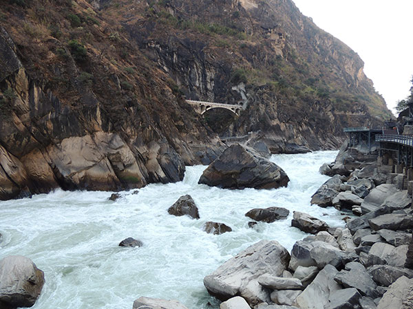 Ten Famous Great Canyons in China - Tiger Leaping Gorge