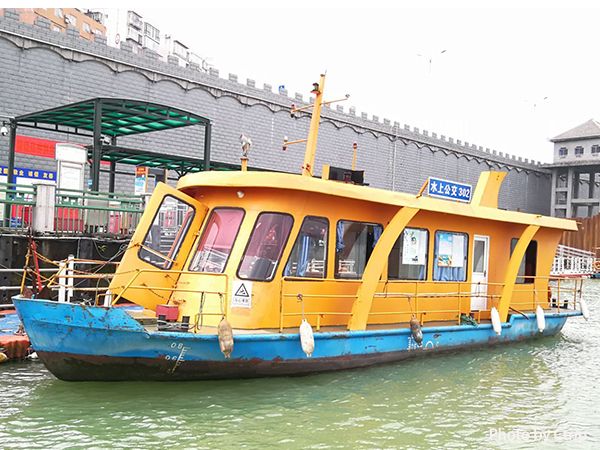 Take a Water Bus in Liujiang River