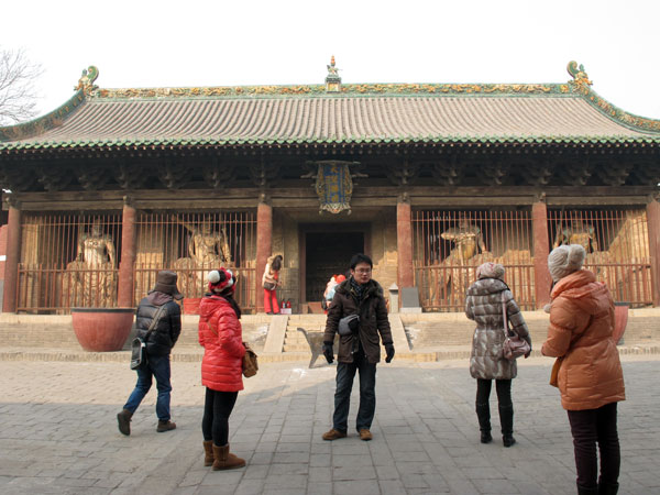 Shuanglin Temple