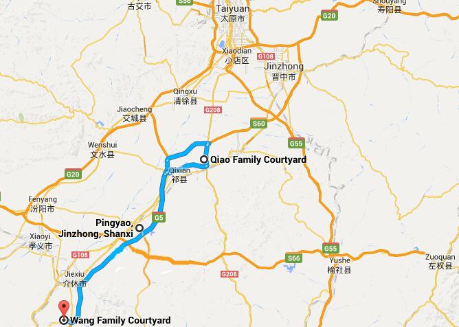 From Pingyaon to Wang Courtyard