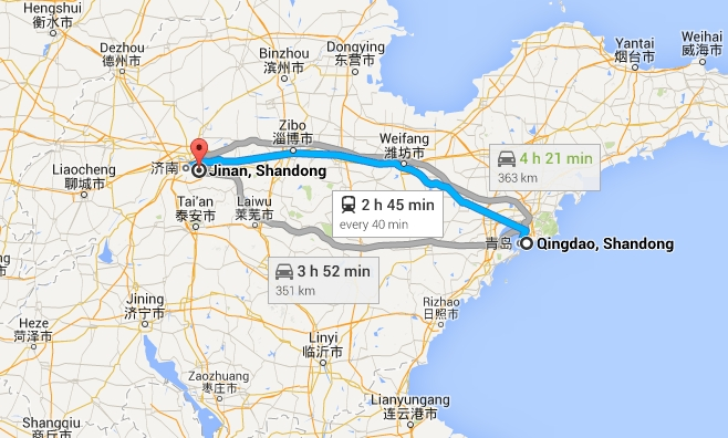 How To Get To Qingdao From Jinan Train Flight Or Bus