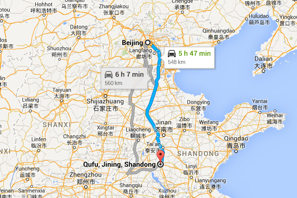 How to Get to Qufu from Beijing, Transport from Beijing to ...