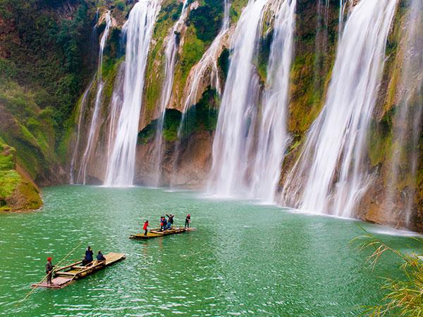 Yunnan Luoping Jiulong Waterfalls, Nine-Dragon Waterfalls