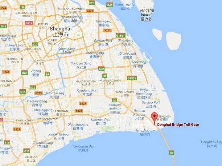 Shanghai donghai bridge first sea crossing bridge in china location location pudong xinqu shanghai shi china gumiabroncs Images