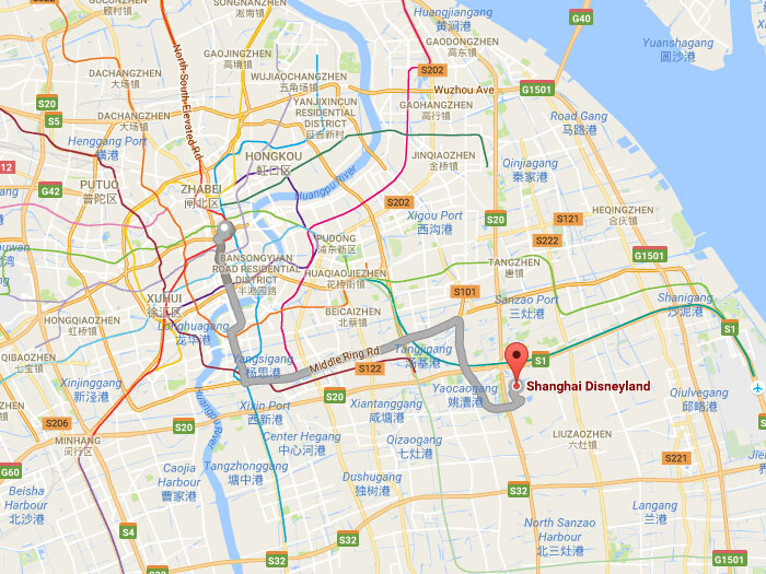 Shanghai disney resort address opening hour map attractions location publicscrutiny Images