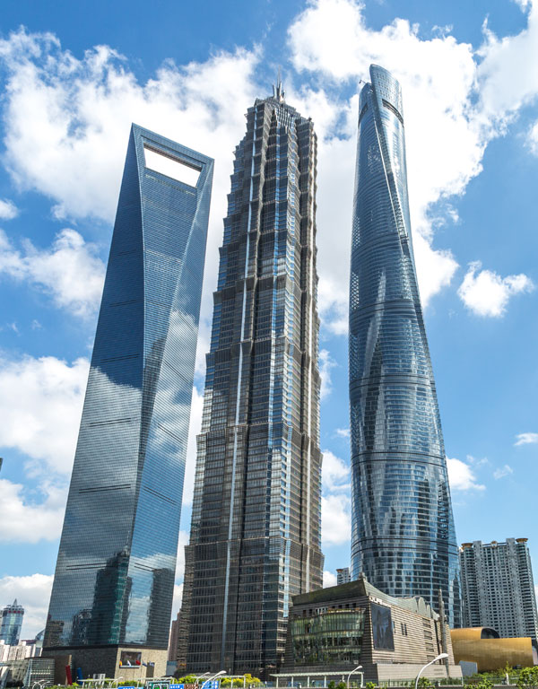 Famous Buildings in China - Shanghai World Financial Center