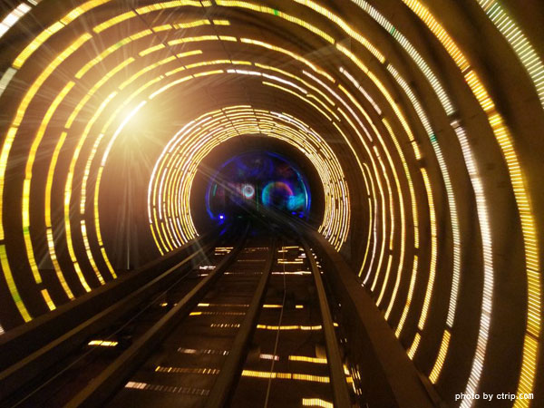 Sightseeing Tunnel at the Bund