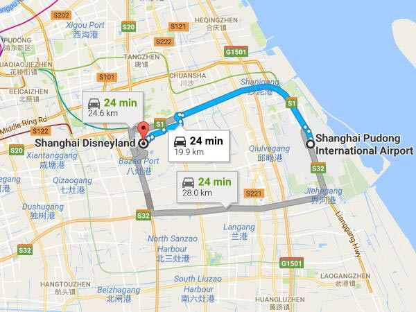 How to Get to Shanghai Disneyland by Taxi Metro Bus