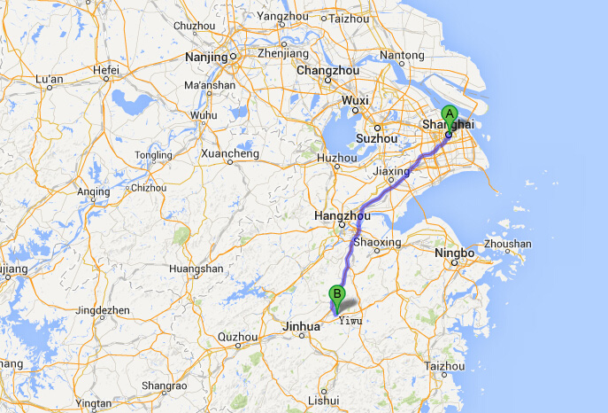 Carte Chine Yiwu.How To Travel From Shanghai To Yiwu Top China Travel
