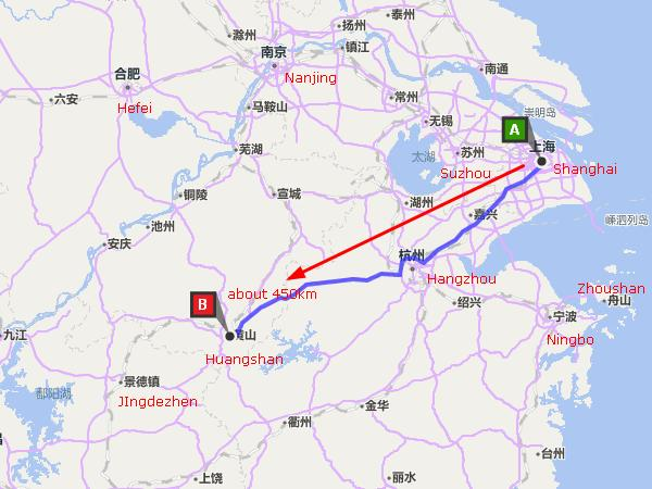 How to Get to Huangshan from Shanghai