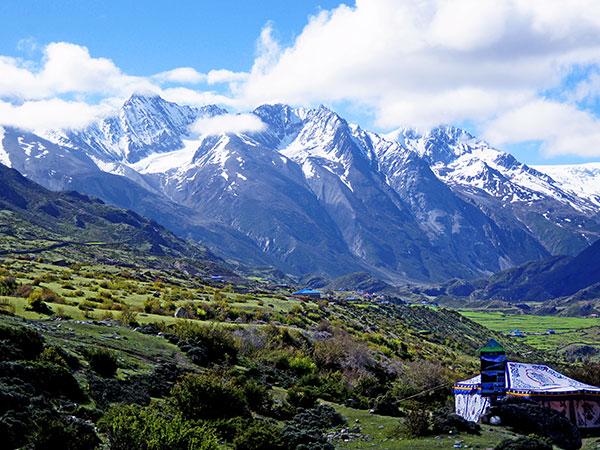 La montaña de nieve meili