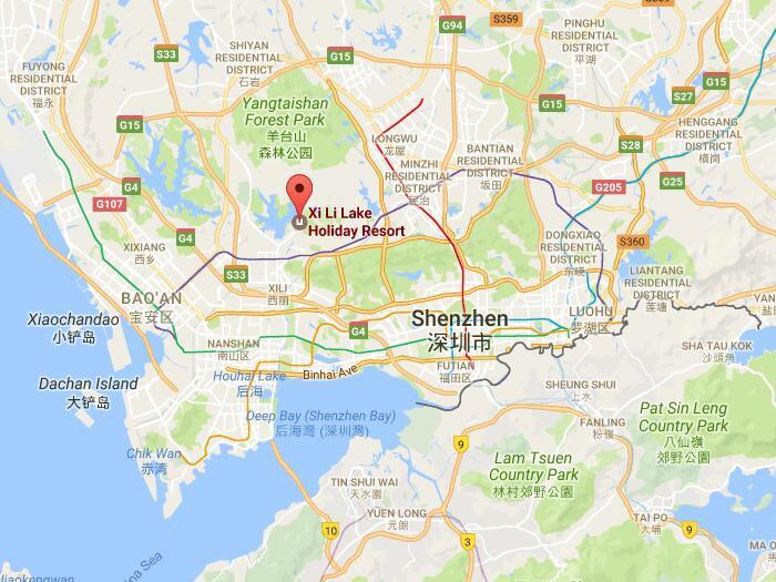 Xili Lake Resort in Shenzhen Famous Attractions in Shenzhen