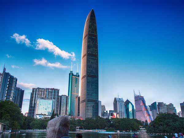 kingkey 100 shenzhen, landmark building in shenzhen