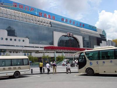 travel shenzhen guilin train