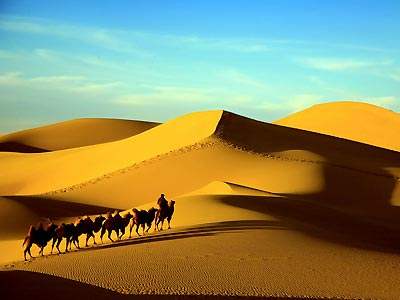 11 Days Tour of Desert Highway in Xinjiang