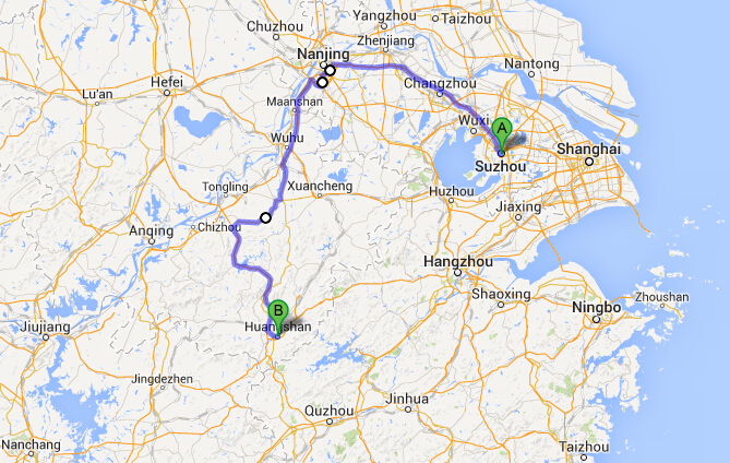 How to Get to Huangshan from Suzhou, How to Get to Yellow ...