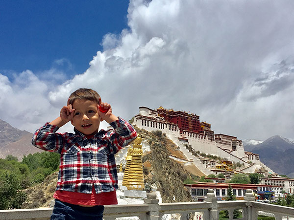 Client in Lhasa