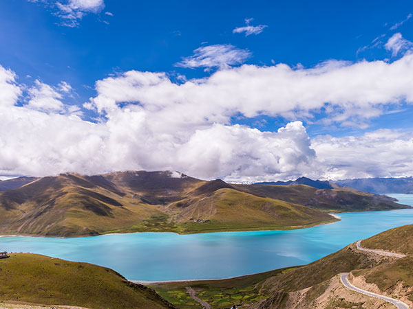 5 Days Tour from Lhasa to Yamdrok Lake
