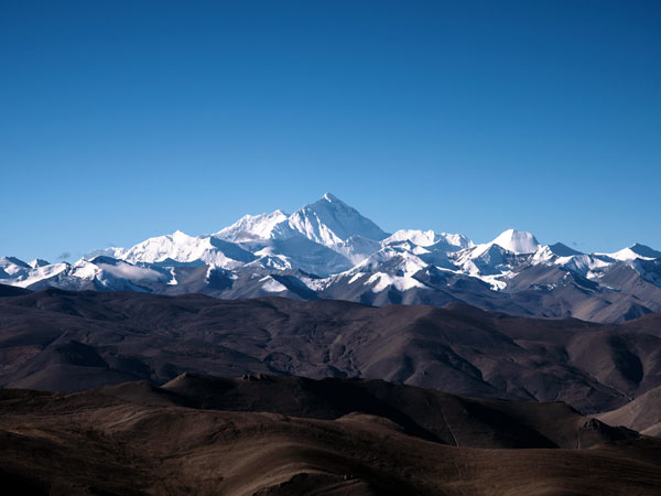 Famous Landmarks in China - Mt. Everest