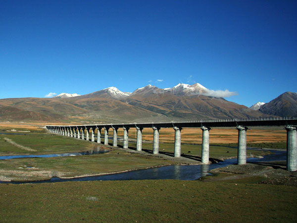 The Stations of Qinghai-Tibet Railway
