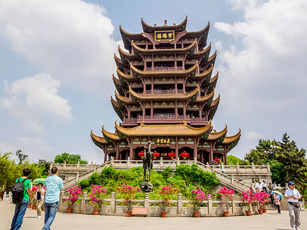 Image result for yellow crane tower wuhan