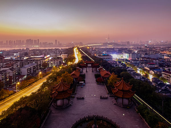 Major Cities in China - Wuhan