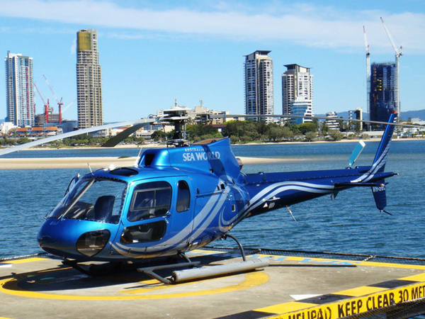 Enjoy the Helicopter Sightseeing Tour