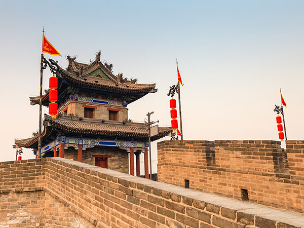 Famous Landmarks in China - Xi'an City Wall
