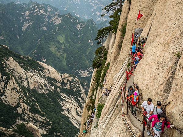 Mount Huashan Changkong Plank Road