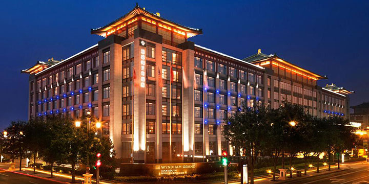 Wyndham grand xian-top hotels in Xian