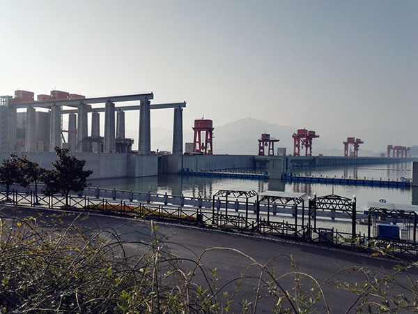 Famous Buildings in China - Three Gorges Dam