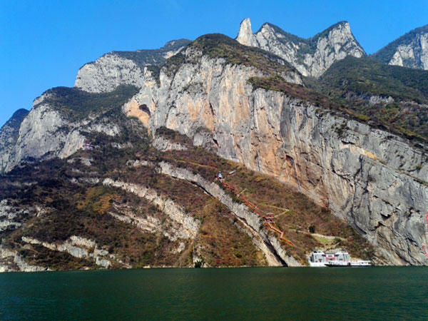 China Top Hiking Routes - Wu Gorge