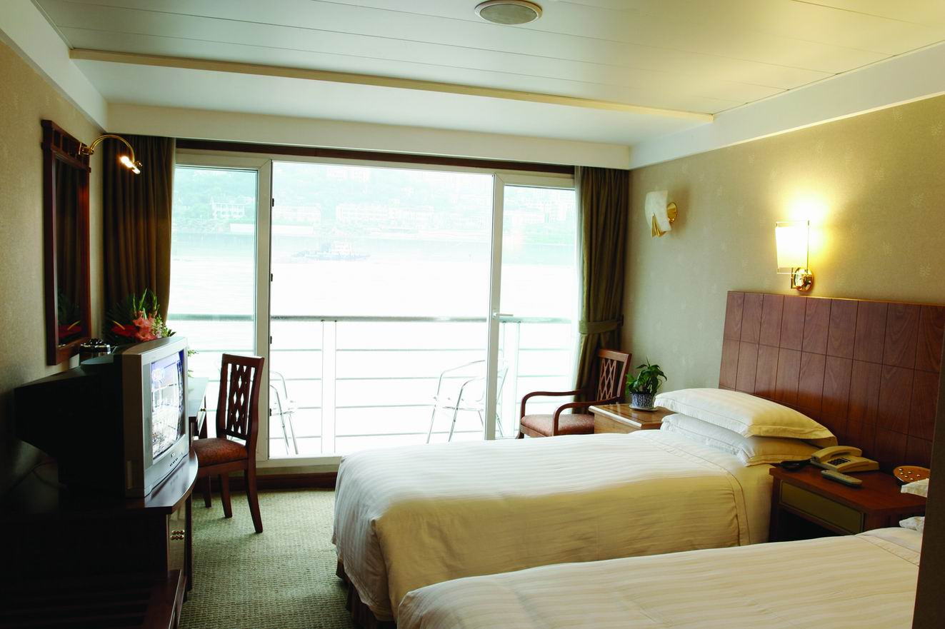 Room of Yangtze Cruise Ship